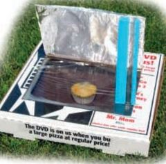 Kids ahead wind energy activities solar oven for How to build a solar oven for kids